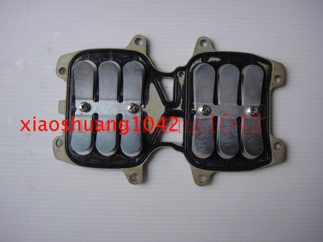 66T-13610-00 пластинчатый Клапан В Сборе для Yamaha 40hp 2-тактный 40X E40X Лодочных Моторов Двигателя