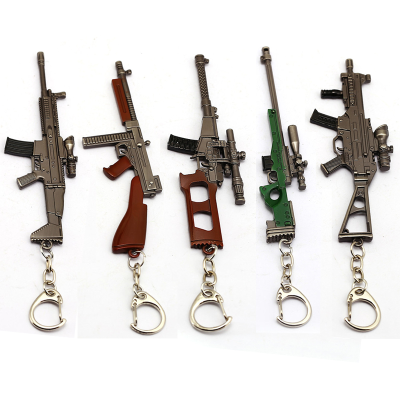 Mobile Phone Accessories Cellphones & Telecommunications Hot Straps For Pubg Game Mobile Phone Strap Fps Game Player Unknowns Battle Grounds 3d Keychain Weapons Model Fashion Keychain
