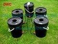 4 cubo Clonador. 20L cubo clonador. DWC. sistema Hdroponics. Sistema de La Cultura del Agua Profunda Cubo Negro Envío gratis