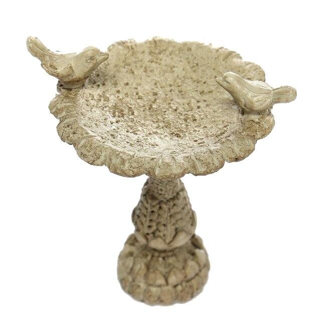 Кукольная Миниатюра Сказочный Сад Мебель Смола Птица Для ванной фонтан 1:12 Весы
