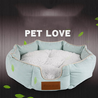 Collapsible Pet Dog Bed Warm Dog House Warm Cat Kennel Puppy Waterproof Pet Supplies Cat Dog Bed Dog Accessories Dog Bed