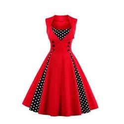 6 цветов 7 Размер s Высокое качество Женское зимнее винтажное Ретро размера плюс готическое корейское Лолита миди платье-сарафан празднично...