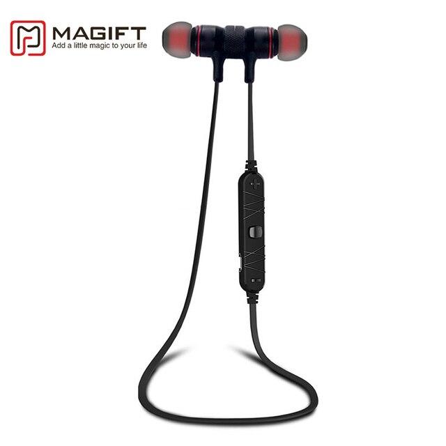 Magift SweatProof Bluetooth Earphone Smart Wireless Earpieces Stereo Super Bass Earbud Neckband Headset Sport Headphone With Mic