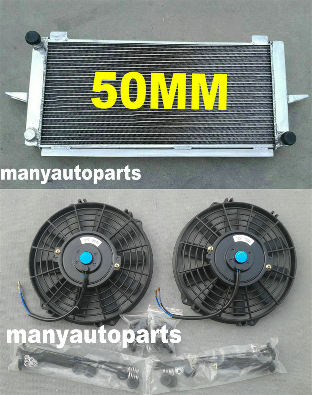 RS COSWORTH 2.0 1982-1997 Radiatore in alluminio ventole per ESCORT//SIERRA RS500