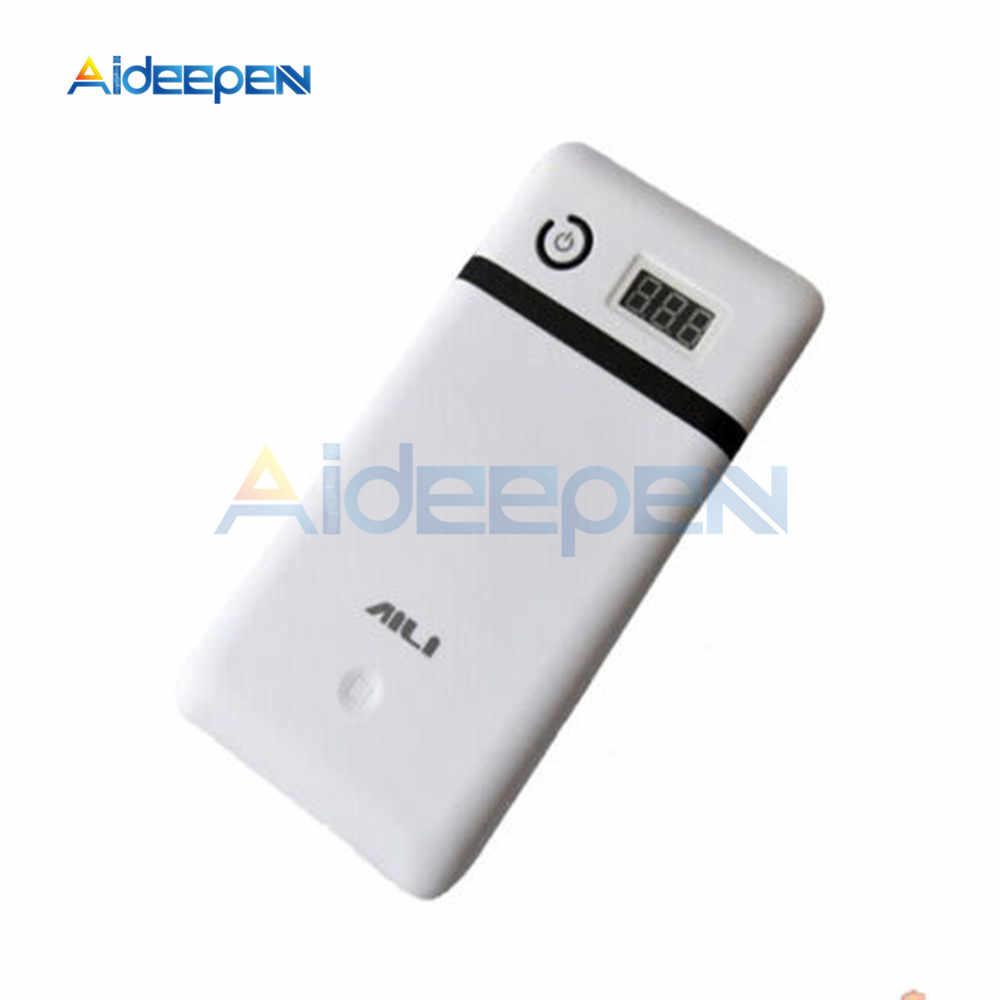 3.3A 5V 12V 19V 21V モバイルパワーバンク 6 18650 バッテリー充電器 19 ノートパソコン 5V 電話バッテリーを含めない
