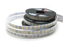 LED Strip 5050 120 LEDs/m DC12V Flexible LED Light Double Row 5050 LED Strip 5m/lot for home decoration lamps