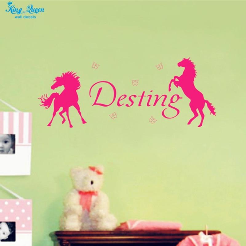Custom Baby Girls Name Wall Decal Vinyl Sticker,Butterflies ...