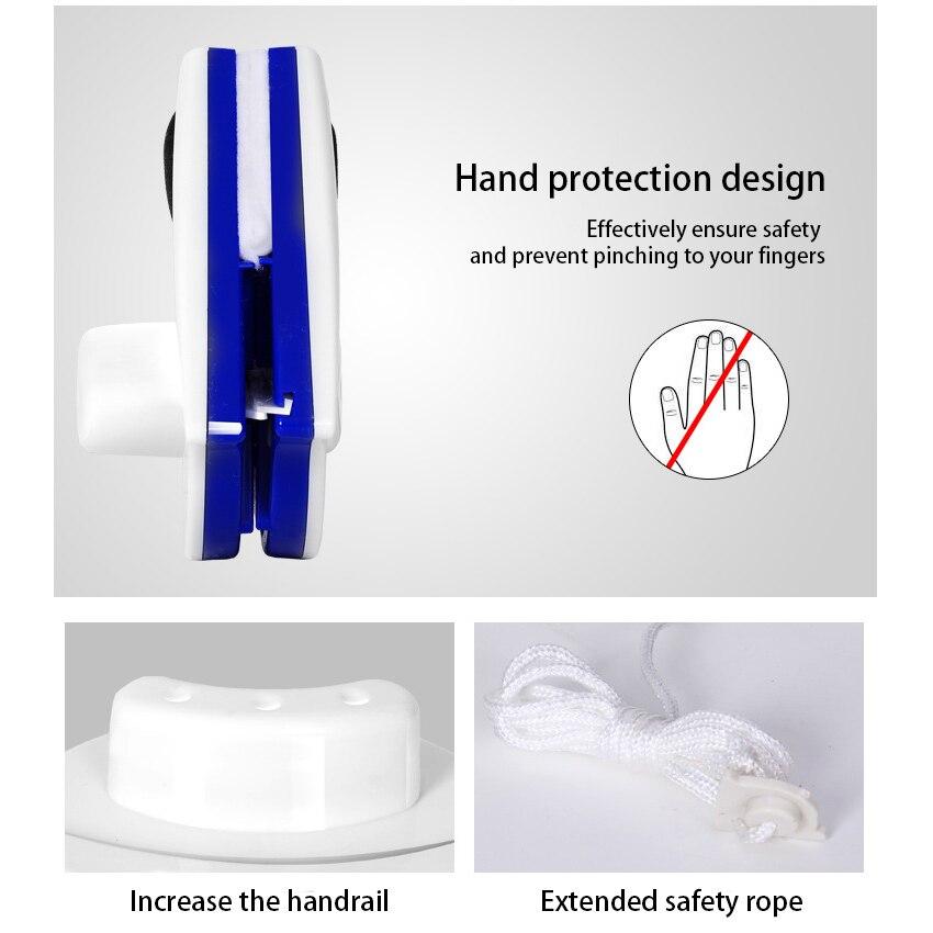 Nieuwe Nuttig Magnetische Window Cleaner Double Side Glass Wiper Nuttig Oppervlak Borstel Veeg Glas Blazen Magnetische Glas Wrijven Borstel Hot