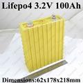 Grande 3.2 v 100ah lifepo4 célula de alta capacidade de energia 100A 3c descarga para veículo elétrico ev pack diy sistema de armazenamento de energia solar etc