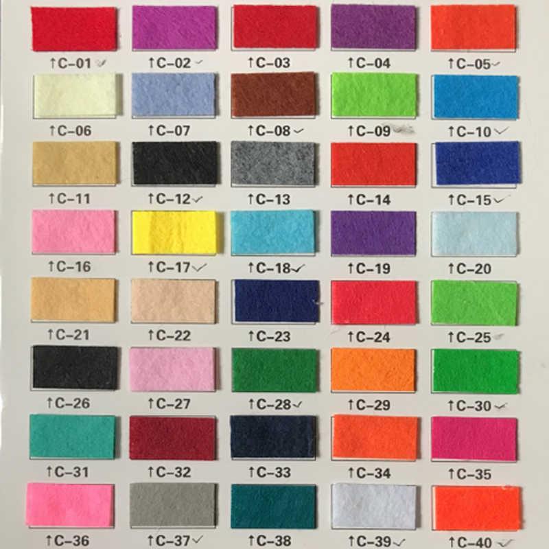 1 шт. 26*26 см фетр несколько цветов с клейкой нетканой тканью толщиной 1 мм ткань полиэстер для Diy кукла игрушка ремесла украшения