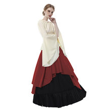 a7999bdb5910d Medieval Renaissance Gothic Victorian Costume Scottish Celtic Irish Pirate  Wench Hippie Boho Dress Halloween Cosplay Costume
