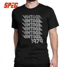 40th Birthday Gifts Men T Shirts 1979 Vintage Retro Graphic Clothing Cotton  Short Sleeved Tees O 1a20f0d7a040