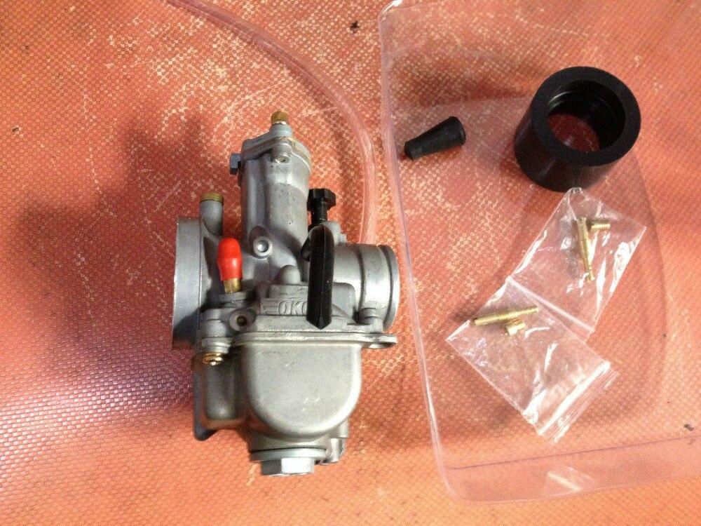 Новый карбюратор 24 мм 2 х тактный двигатель гонки плоская сторона часть OEM для око carb