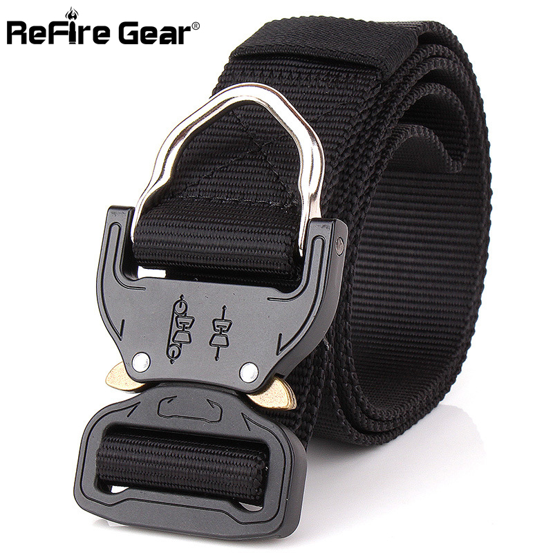 Apparel Accessories 1000d Thicken Nylon Tactical Belts Swat Military Equipment Knock Off Army Belt Heavy Duty Us Soldier Combat Men Waistband 3.8cm