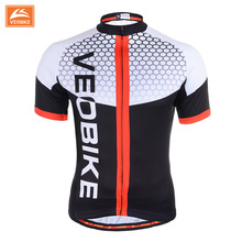 VEOBIKE 2017 Men's Summer Bicycle SportsWear Mens Cycling Short Sleeve Jersey Cycling Clothing Bike Shirt Size S TO 3XL