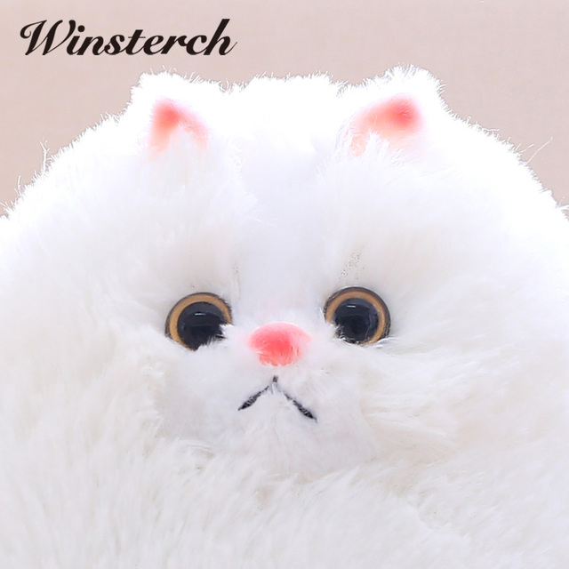 Fun Plush Fluffy Cats Persian Cat Toys Pembroke Pillow Soft Stuffed Animal Peluches Dolls Baby Kids Toys Gifts Brinquedos WW108