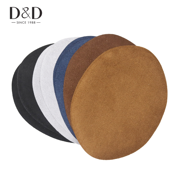 D Hot 10pcs Diy Iron On Repair Suede Artificial Leather Patches Sewing Lique Handmade Accessory