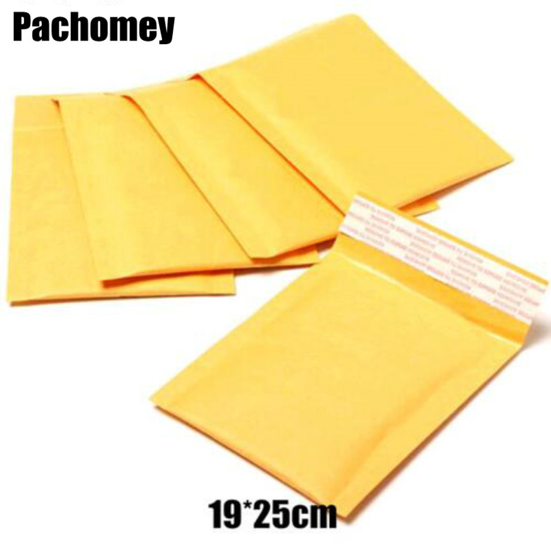 Bubble Poly Mailers Padded Envelops Bags Kraft Bubble Mailers Mailing Envelops Bag 19 25cm Factory Wholesales