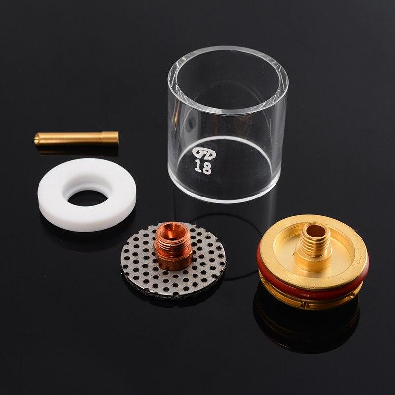 5 X Tig Schweißbrenner Tasse Champagner Düse Set für 2.4mm 3//32 WP-9//20//25