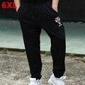 Big Size men's trousers  plus size clothing plus size  casual pants male trousers loose cotton trousers 6XL