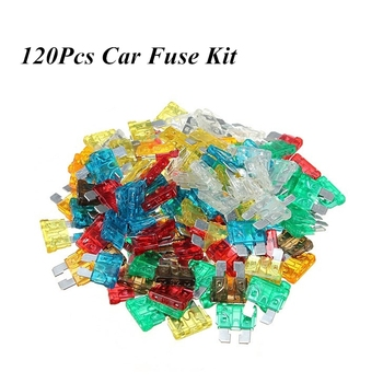 120Pcs/set Medium Car Blade Fuses Assortment Standard Fuse  5A 7.5A 10A 15A 20A 25A 30A For Auto Car Truck auto blade fuse zinc alloy plastic material suv mini small car fuses 2a 3a 5a 7 5a 10a 15a 20a 25a 30a 35a 40a clip amp truck