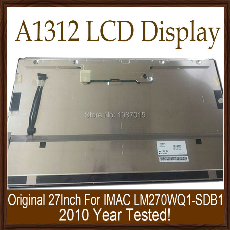 """Original New A1312 LCD Screen With Front Glass Complete Assembly For Apple iMac 21.5"""" 2010 Year LM270WQ1-SDC2 Working Tested"""