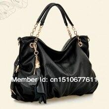 2014 handbags women famous brands women messenger bags Genuine Leather bags women tassel Shoulder casual bags стоимость