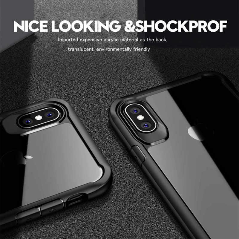 غلاف واقي مضاد للصدمات حقيبة لهاتف أي فون 2019 7 8 6 6s Plus 5 5s SE 4 4s حقيبة لهاتف أي فون 11 برو X XS Max XR غطاء كابا فوندا كوك