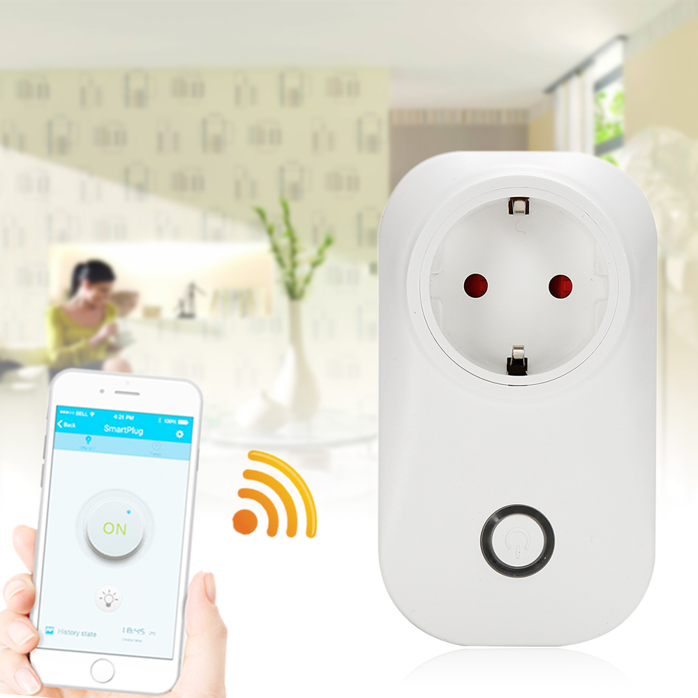 Hot Selling Sonoff S20 Smart Home Charging Adapter Smart Switch WIFI R