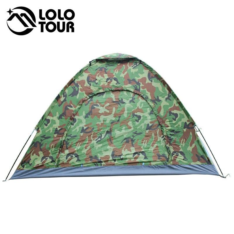 En plein air 4 Personne Camouflage Camping Tente Plage Touristique De Pêche Trekking Tenda Pergola Bâche Barraca Auvent Ultra-Léger Tente