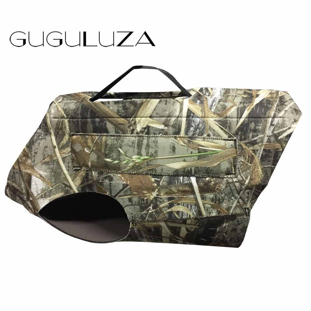 GUGULUZA Dog Clothes Hound Camouflage Protection Neoprene Safety Vest Dog Parka Coats Waterproof Large Hunting Animal-in Hunting Vests from Sports & Entertainment