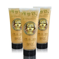 QLZHANFU 24 K Gold Foil Gold Mask To Mask Hydrating Repair Face Mask