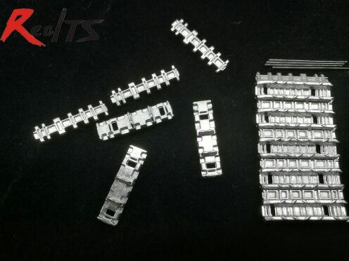 лучшая цена RealTS San Xin SX35001 1/35 Metal Track w/metal pin for King tiger & Jagdtiger
