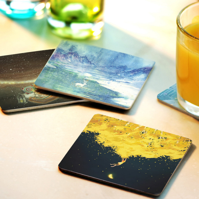 Popular diy coaster buy cheap diy coaster lots from china for Creative coasters