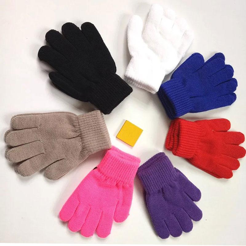 Großhandel 50 Stücke! 50%-60% Rabatt Versandkosten! Kinder Winter Handschuhe Strickhandschuhe Kinder
