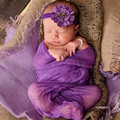 Baby Photography Props Boy Girl Wrap Mohair Knitted Crochet Accessories Baby Photo Props Handmade Fotografia Hat