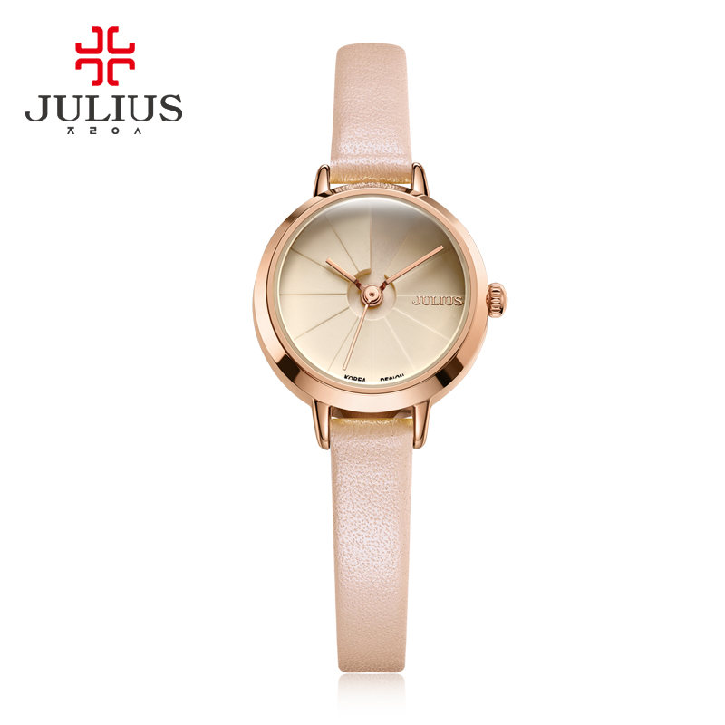Women s Creative Stairs Design Slim Watch Julius Female Elegant Fashion Whatch Gift Box Packed Ladies