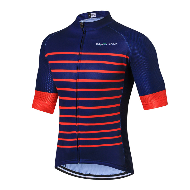 Weimostar Pro Team Jersey de ciclismo de media manga para hombre Top - Ciclismo - foto 2