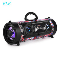 ELE 16W Portable Column Sven Bluetooth Speaker Move KTV 3D Sound System Sound Bar Subwoofer Music Wireless Speaker FM Radio USB