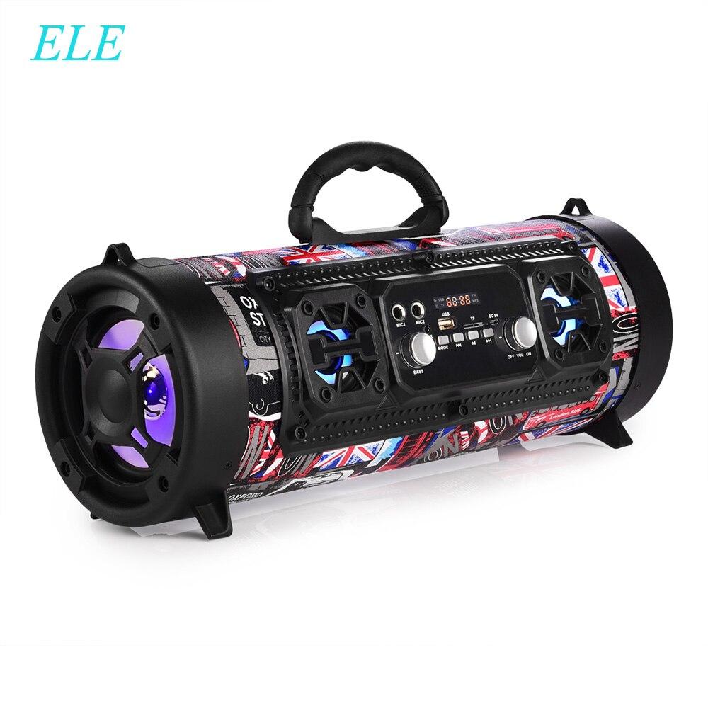 ELE ELEOPTION 16 W Portable colonne Bluetooth haut-parleur déplacer KTV 3D système de son barre de son Subwoofer Portable Bluetooth haut-parleur