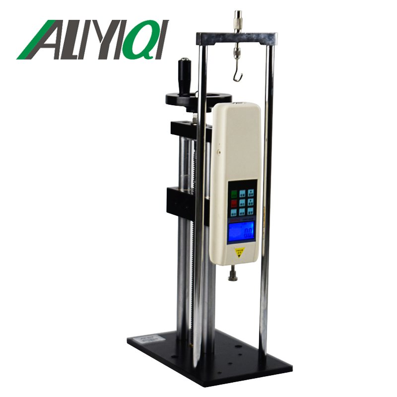 ALX-J Screw test stand(vertical and horizontal dual) force gauge test stand wooden case without digital force gauge