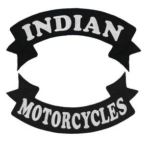INDIAN MOTORCYCLE ROCKER Embro