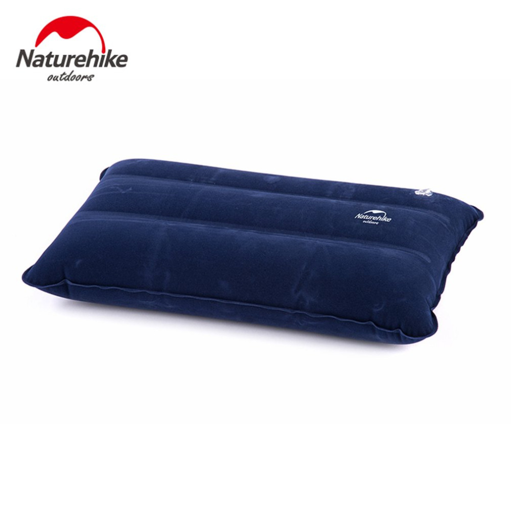 Naturehike 44*27cm Ultralight Square Portable Air Inflatable Outdoor Camping Travel Soft Pillow