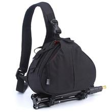 Водонепроницаемый Рюкзак плеча DSLR Камера сумка для Canon EOS 1300D 760D 750D 700D 600D 7D 80D 6D 5DII 5DS 5DR 60D 1200D