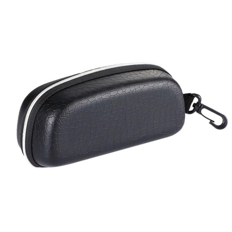 *Anti-pressure Ski glasses Motorcycle sunglasses box eye EVA fashion retro mirror box / leather Cycling Skiing glasses case