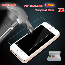 For Clear glass screen protection for iPhone4 4S slim crystal protective film