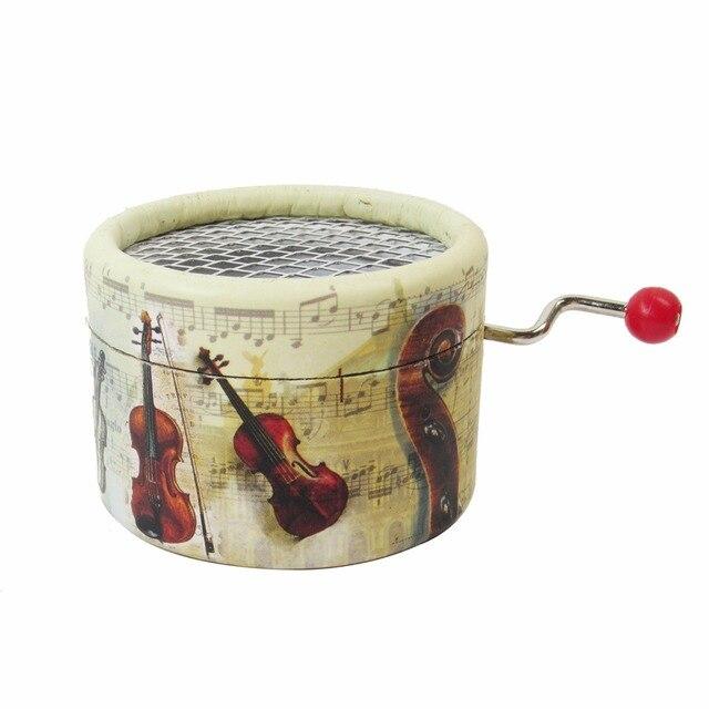 acheter violon papier bo te musique manivelle 18 notes mouvement de bo te. Black Bedroom Furniture Sets. Home Design Ideas