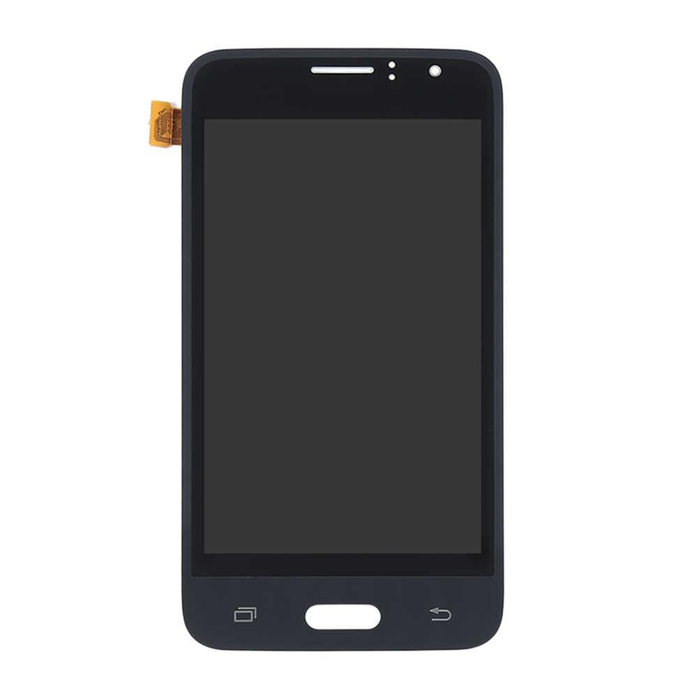 LCD J1 2016 لسامسونج غالاكسي J1 2016 J120M J120F شاشة الكريستال السائل محول الأرقام بشاشة تعمل بلمس الأسود لسامسونج j120 شاشة Lcd