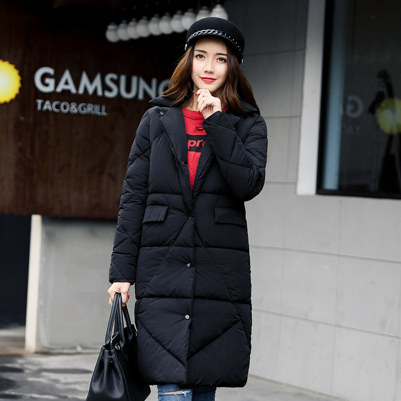 2017 winter ladies new coat warm jacket high quality leading fashion trend lengthening thick woman jacket karen cvitkovich leading across new borders