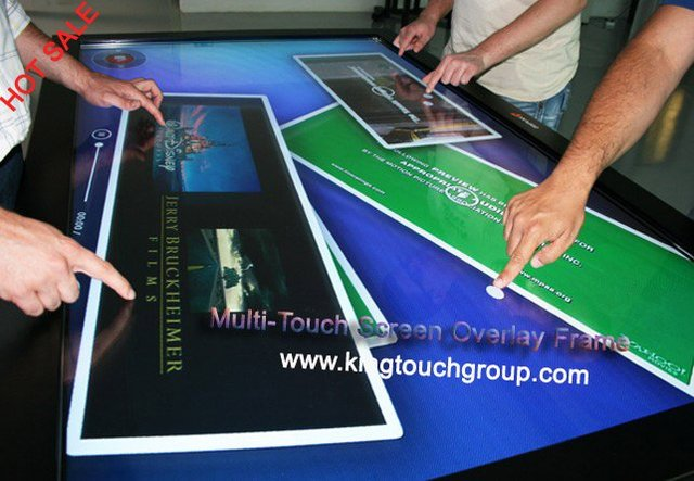 "22"" IR Multi Touch screen Overlay /  Frame Multi Touch Screen Panel free shipping cost"